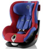 Комплект автокресло 9-18 кг Britax Roemer King II LS Black Series Football Edition + чехол