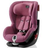 Автокресло детское 9-18 кг Britax Romer King II Black Series Wine Rose