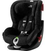 Детское автокресло 9-18 кг Britax Roemer King II LS Black Series Crystal Black